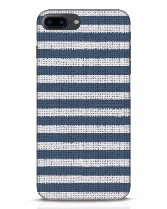 Shop Nautical Stripes iPhone 7 Plus Mobile Cover-Front