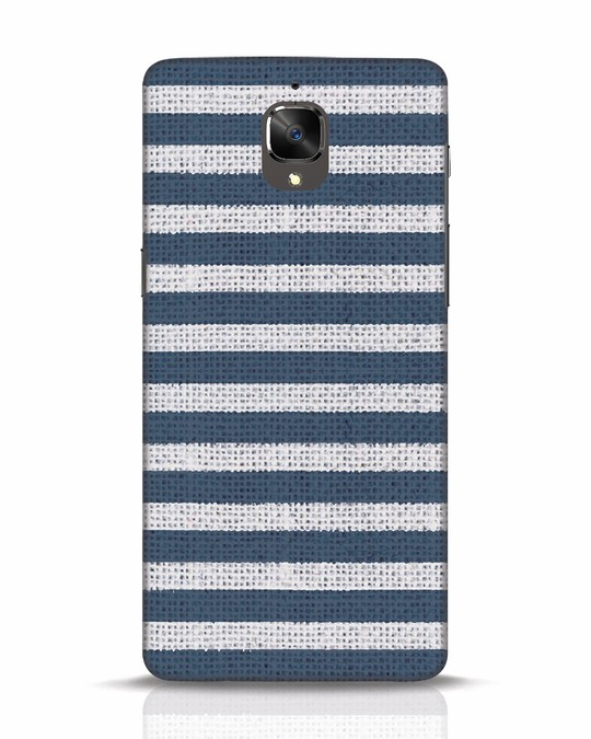 Shop Nautical Stripes OnePlus 3T Mobile Cover-Front
