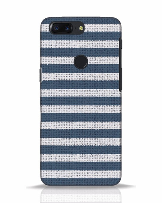 Shop Nautical Stripes OnePlus 5T Mobile Cover-Front