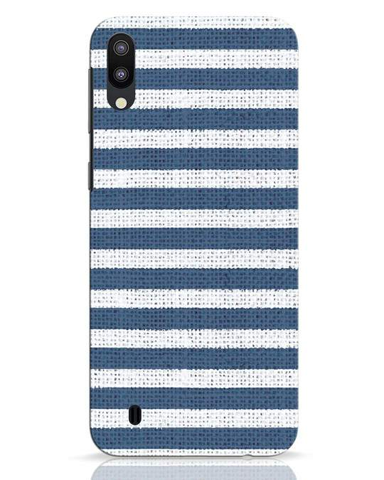 Shop Nautical Stripes Samsung Galaxy M10 Mobile Cover-Front