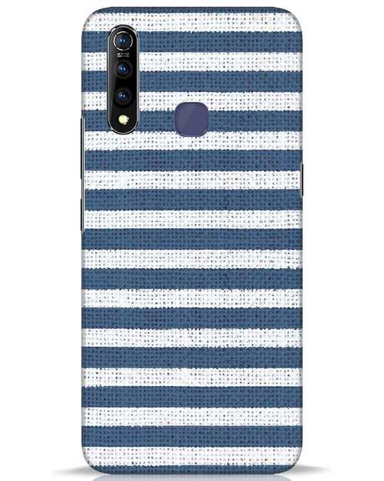 Shop Nautical Stripes Vivo Z1 Pro Mobile Cover-Front