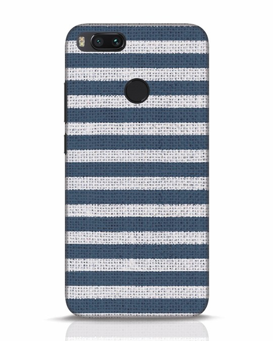 Shop Nautical Stripes Xiaomi Mi A1 Mobile Cover-Front