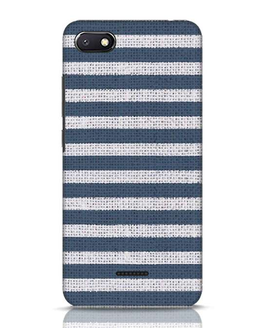 Shop Nautical Stripes Xiaomi Redmi 6A Mobile Cover-Front