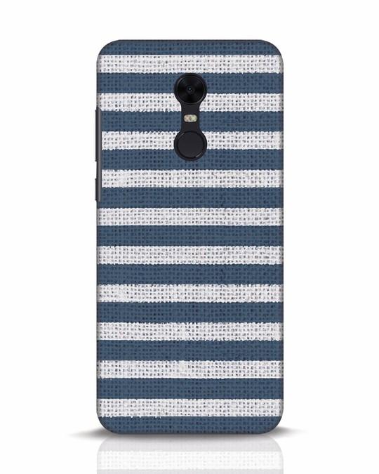 Shop Nautical Stripes Xiaomi Redmi Note 5 Mobile Cover-Front