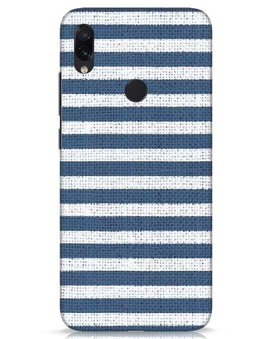 Shop Nautical Stripes Xiaomi Redmi Note 7s Mobile Cover-Front