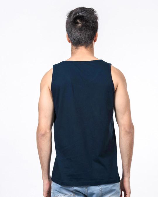 Shop Navy Blue Vest-Full