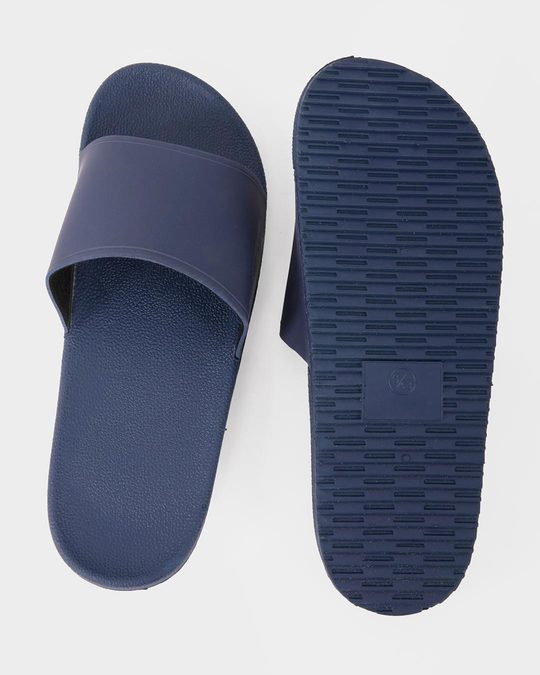Shop Navy Blue Sliders