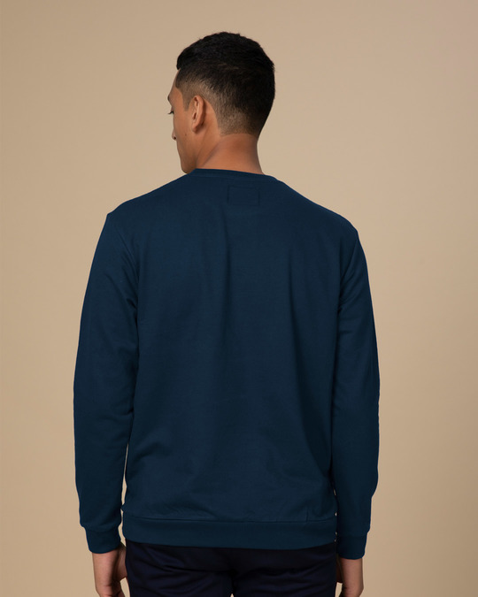 Shop Navy Blue Sweatshirt