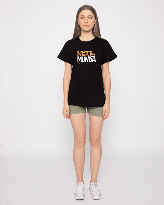 Shop Neat Munda Boyfriend T-Shirt