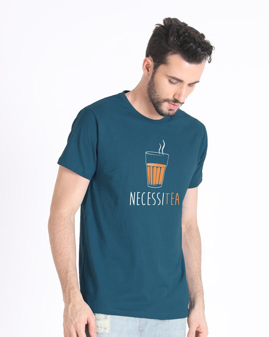 Shop Necessitea Half Sleeve T-Shirt-Full