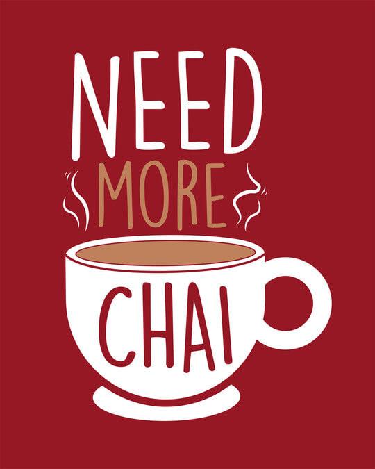 Shop Need Chai Full Sleeve T-Shirt