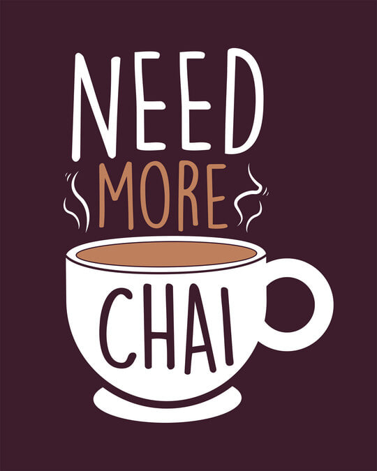 Shop Need Chai Half Sleeve T-Shirt