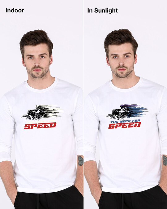 Shop Need For Speed Nfs Full Sleeve (Sun Active T-shirt)-Design