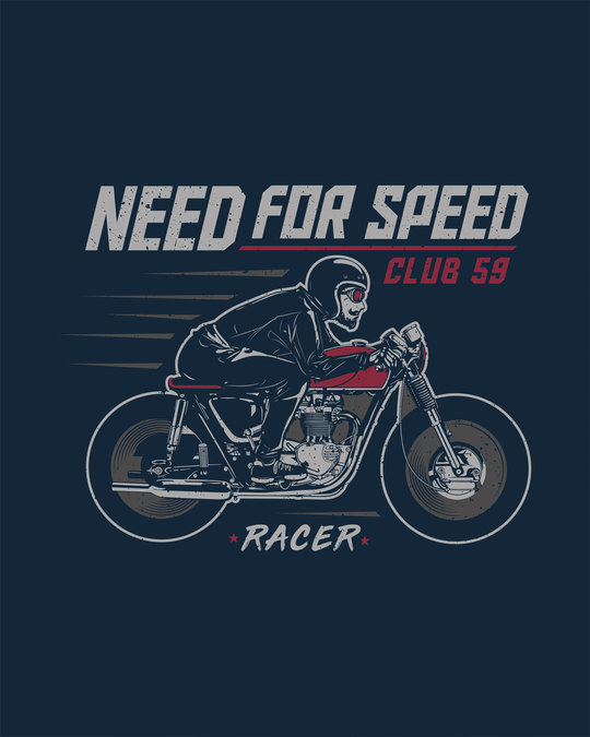 Shop Need For Speed Round Neck 3/4th Sleeve T-Shirt