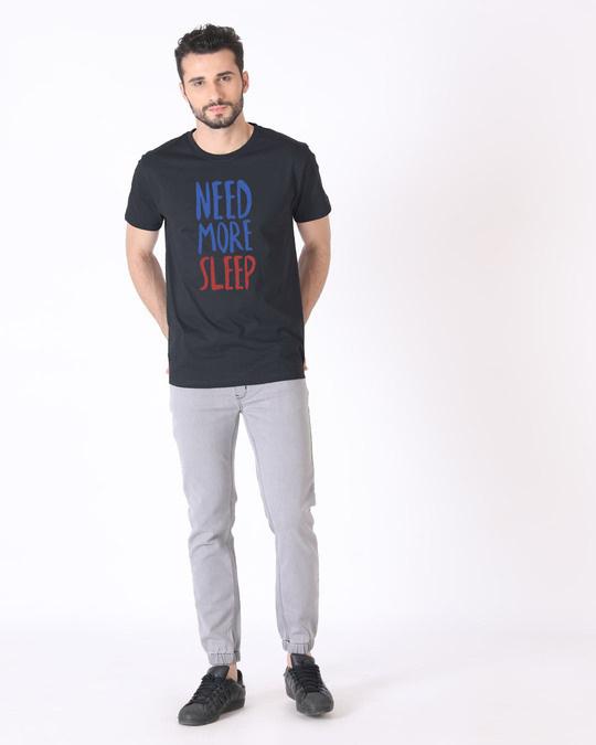 Shop Need Sleep Half Sleeve T-Shirt