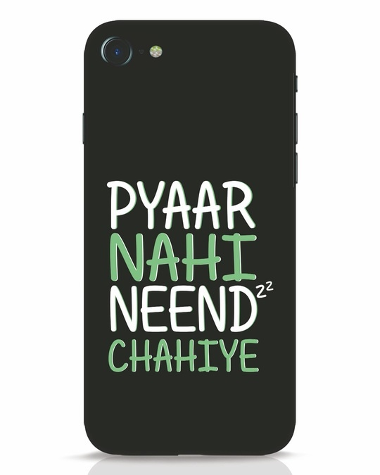 Shop Neend Chahiye iPhone 8 Mobile Cover-Front