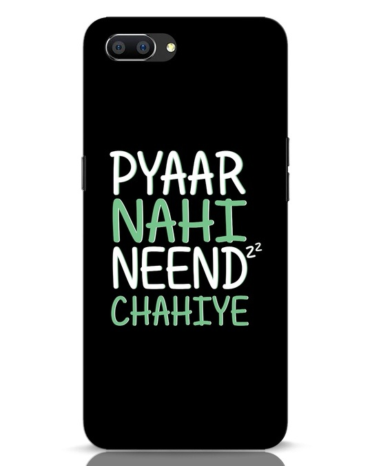 Shop Neend Chahiye Realme C1 Mobile Cover-Front