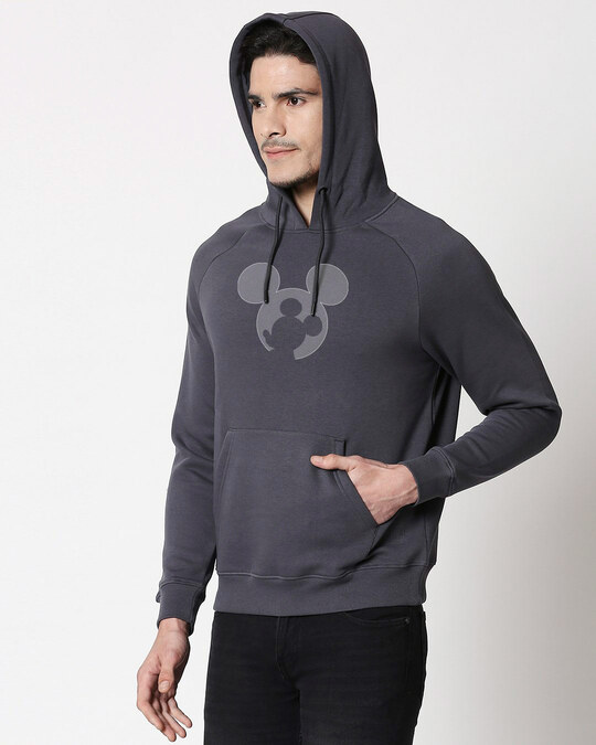 Shop Negative Mouse Hoodie Sweatshirt-Back
