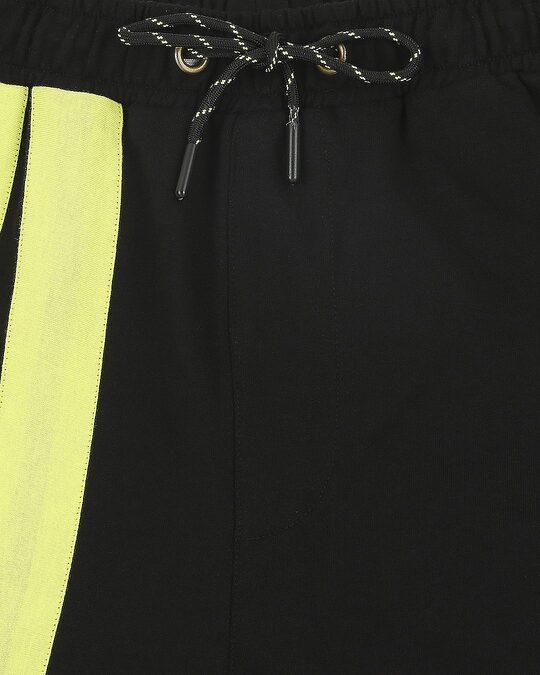 Shop Arcade Green Sports Trim Shorts