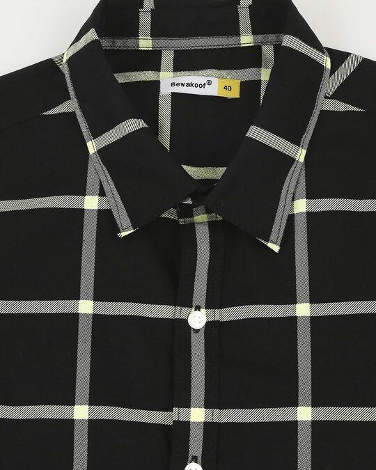 Shop Arcade Green Checks Casual Shirt