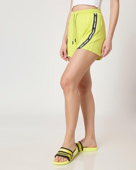 Shop Arcade Green Stylised Shorts-Design