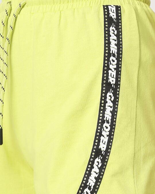 Shop Arcade Green Stylised Shorts