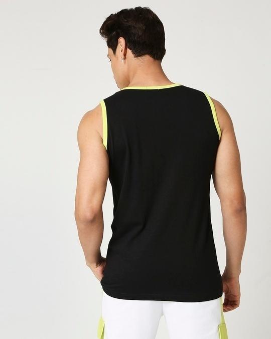 Shop Arcade Green Round Neck Vest-Full