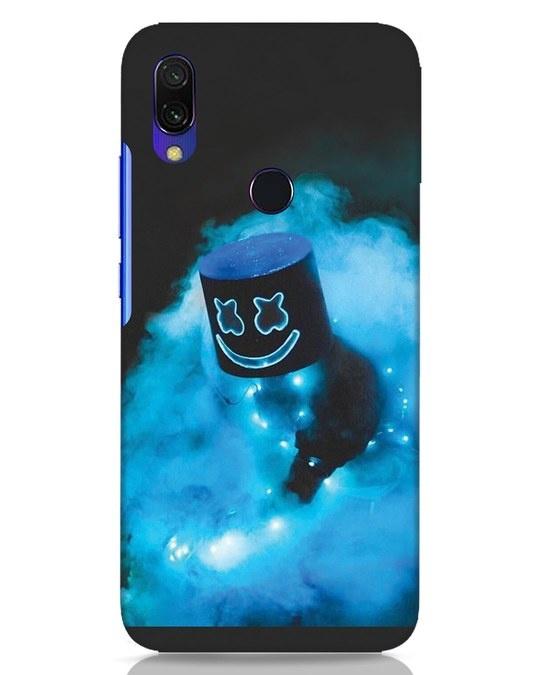 Shop Neon Blue Mellow Xiaomi Redmi Y3 Mobile Cover-Front