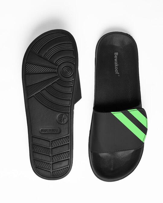 Shop Neon Diagonal Lightweight Adjustable Strap Mens Slider-Full