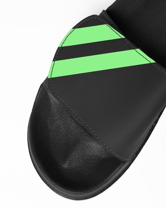 Shop Neon Diagonal Lightweight Adjustable Strap Mens Slider