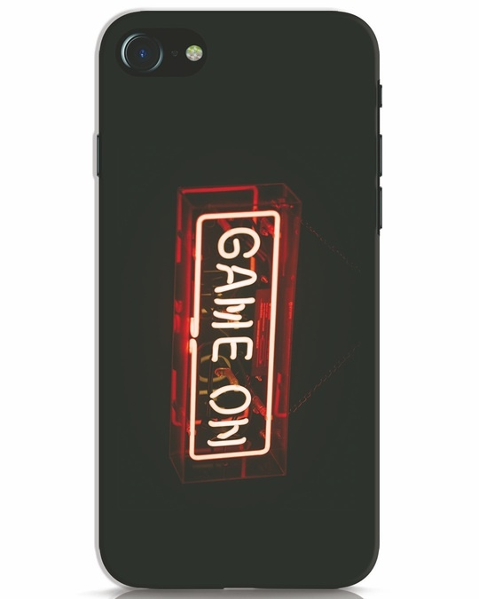 Shop Neon Game On iPhone 7 Mobile Cover-Front