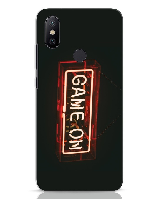 Shop Neon Game On Xiaomi Mi A2 Mobile Cover-Front