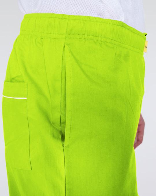 Shop Neon Green Pyjama