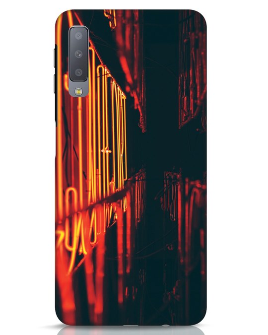 Shop Neon Lyts Samsung Galaxy A7 Mobile Cover-Front