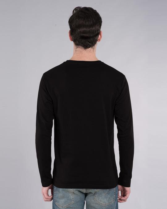 Shop Neon Mask Full Sleeve T-Shirt-Back