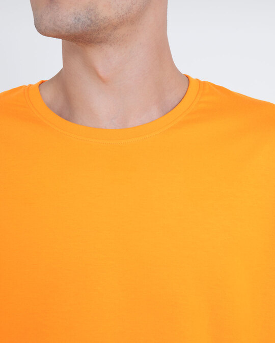 Shop Neon Orange Full Sleeve T-Shirt