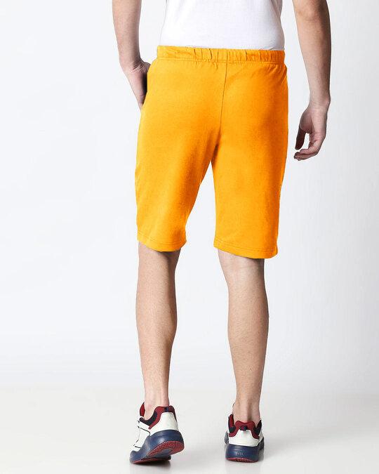 Shop Neon Orange Men's Casual Shorts-Design