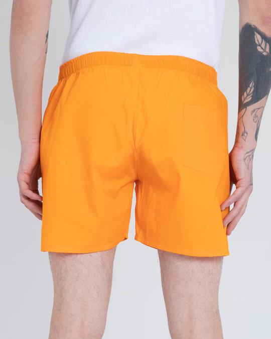 Shop Neon Orange Plain Boxer-Design