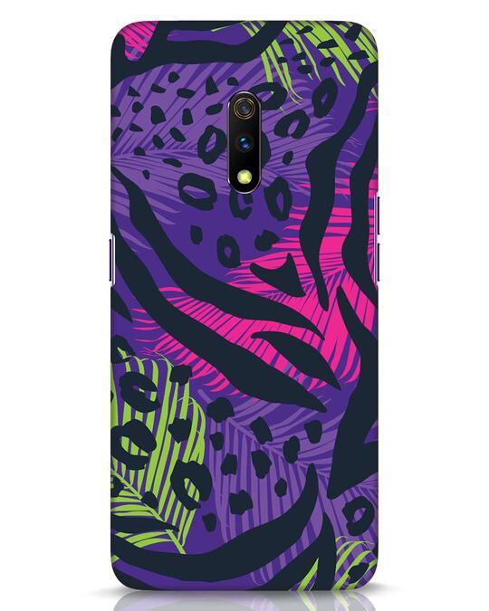 Shop Neon Tropical Realme X Mobile Cover-Front
