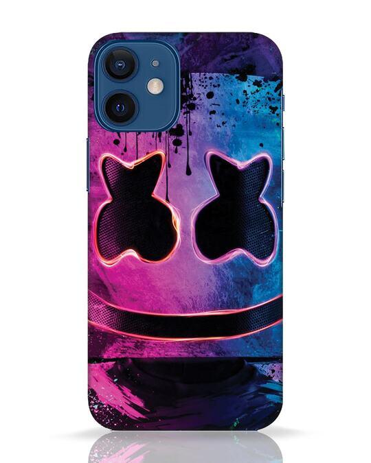 Shop Neonpaintmellow iPhone 12 Mini Mobile Cover-Front