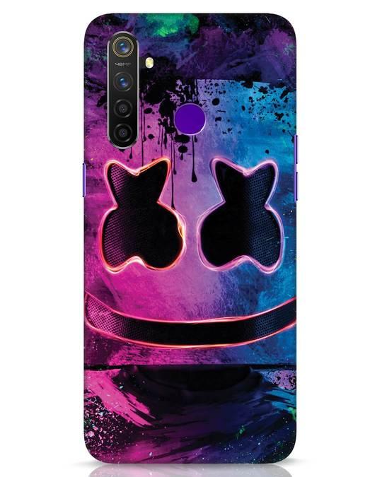 Shop Neonpaintmellow Realme 5 Pro Mobile Cover-Front