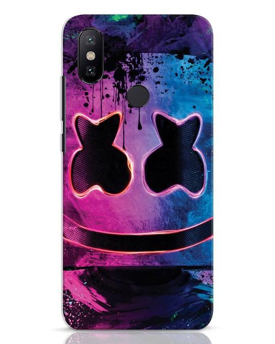 Shop Neonpaintmellow Xiaomi Mi A2 Mobile Cover-Front