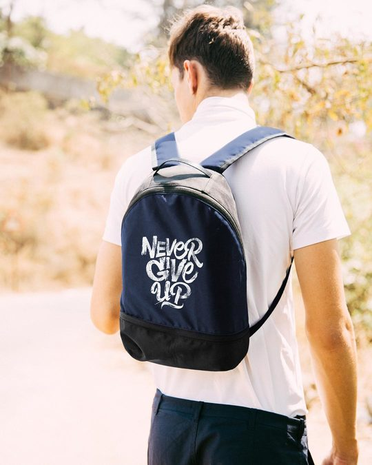 Shop Never Give Up Essential mini Backpack