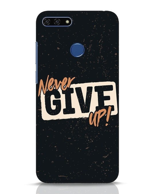 Shop Never Give Up Huawei Honor 7A Mobile Cover-Front