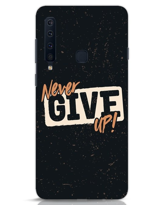 Shop Never Give Up Samsung Galaxy A9 2018 Mobile Cover-Front