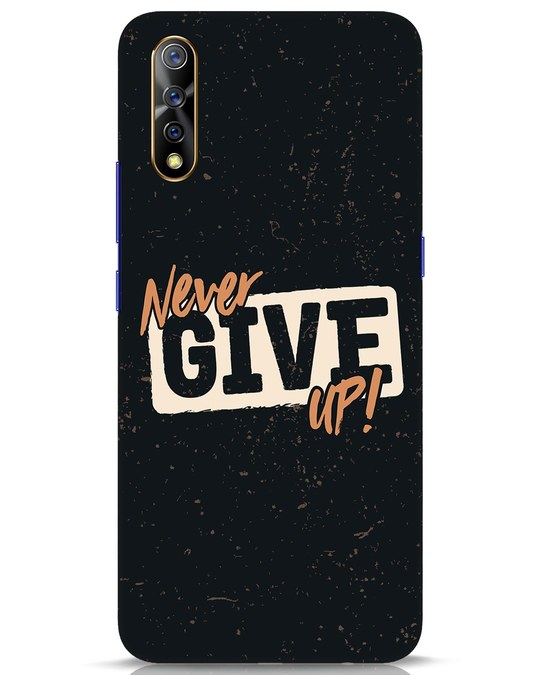Shop Never Give Up Vivo S1 Mobile Cover-Front