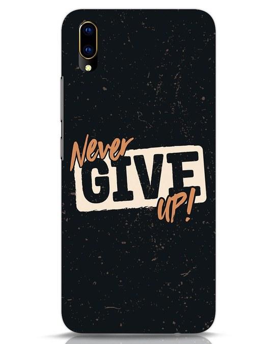 Shop Never Give Up Vivo V11 Pro Mobile Cover-Front