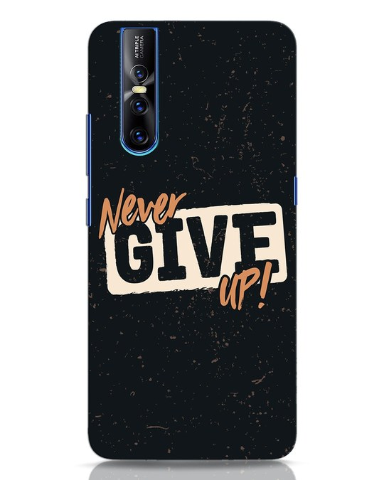 Shop Never Give Up Vivo V15 Pro Mobile Cover-Front