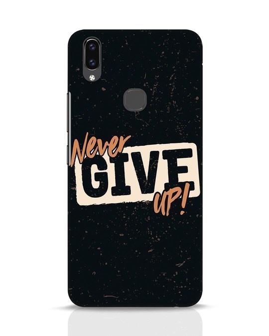 Shop Never Give Up Vivo V9 Mobile Cover-Front