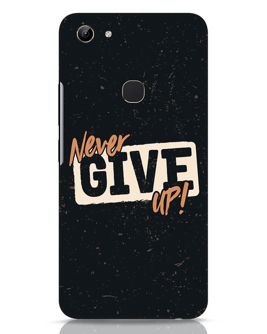 Shop Never Give Up Vivo Y81 Mobile Cover-Front